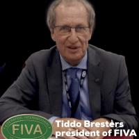 Tiddo Brestèrs president of fiva