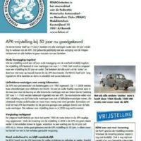 Nieuwsbrief FEHACtiviteiten juli 2020