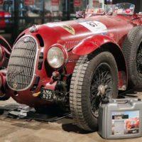 Frans van Haren en zijn Bella Rossa rijden de Mille Miglia op schone benzine